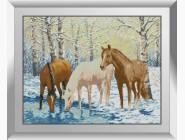 Лошади у реки