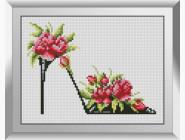 Туфелька с розами