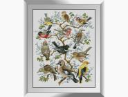 Птицы и павлины Дерево птиц