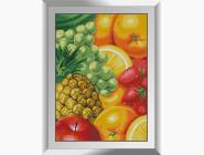 Натюрморт, фрукты и овощи Сочные фрукты