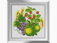 Натюрморт, фрукты и овощи Урожай