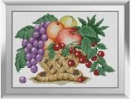 Натюрморт, фрукты и овощи Фруктовая корзина