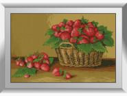 Натюрморт, фрукты и овощи Лукошко клубники