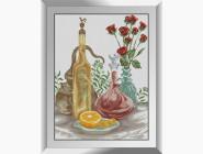 Натюрморт, фрукты и овощи Натюрморт с розами