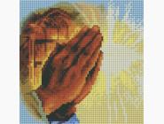 Алмазная вышивка Иконы Молитва