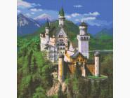 Города мира Замок в горах