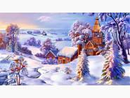 Города мира Зимний пейзаж