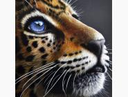 Новинки алмазной вышивки Взгляд леопарда