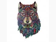 Деревянные пазлы Волк