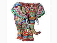 Деревянные пазлы Слон