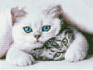 Новинки алмазной вышивки Наглый котик