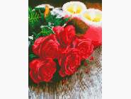 Новинки алмазной вышивки Букет роз для неё