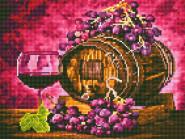 Новинки алмазной вышивки Бочонок с вином