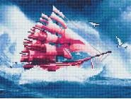 Новинки алмазной вышивки Розовый корабль