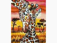 Новинки алмазной вышивки Маленький жираф
