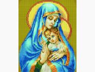 Новинки алмазной вышивки Дева Мария с Иисусом