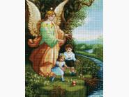 Алмазная вышивка Иконы Ангел и дети