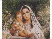 Новинки алмазной вышивки Мадонна с младенцем