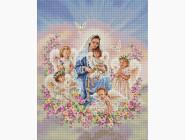 Новинки алмазной вышивки Богородица с ангелами