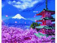 Новинки алмазной вышивки Японский сад