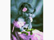 Новинки алмазной вышивки Девочка в розовом