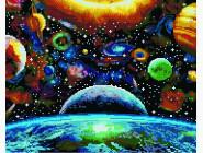 Новинки алмазной вышивки Космос всюду