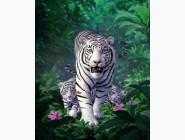 Новинки алмазной вышивки Бенгальский тигр (GL73399)