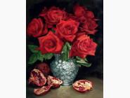 Алмазная вышивка  Диамантовые ручки Красный натюрморт (GA74267) (GU_178040, На подрамнике)