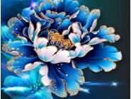 Новинки алмазной вышивки Фантастическая цветок (GL77909)