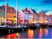 Новинки алмазной вышивки Городок в Дании (GD74622)
