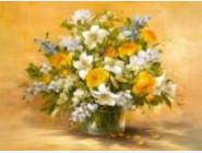 Новинки алмазной вышивки Желтые розы (GM74609)