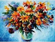 Новинки алмазной вышивки Натюрморт полевых цветов (GD74197)