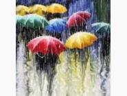 Новинки алмазной вышивки Под дождём (ME25089)