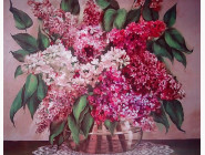 Алмазная мозаика Бриллиантовые ручки Сиреневая симфония (с багетной рамой) (GU_188104)