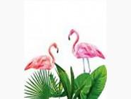 Новинки алмазной вышивки Розовые фламинго