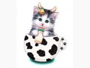 Котенок-младенца (JA20375, частичная выкладка)