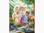Ангелы (AKG71248, принтованая рама)