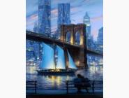 Новинки алмазной вышивки Бруклинский мост (GL73695)