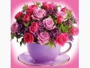 Цветы и букеты Чайные розы (ME24337)