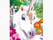 Алмазная вышивка для детей Единорог (JA24595)