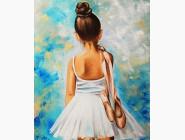 Новинки алмазной вышивки Маленькая балерина (JA24610)