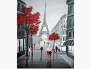 Новинки алмазной вышивки Осень в Париже (LC3391)
