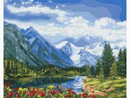 картина по номерам Альпийское совершенство