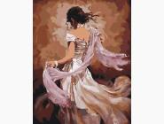 Танцовщица в белом платье