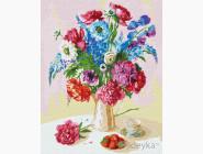 Цветы, натюрморты, букеты Клубника на двух