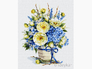 Цветы, натюрморты, букеты Лазурный букет