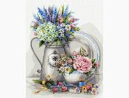 Цветы, натюрморты, букеты Изысканный натюрморт