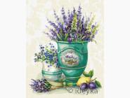 Цветы, натюрморты, букеты Лаванда в горшке