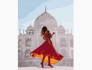 Портреты, люди на картинах по номерам Жемчужина индии