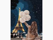 Портреты, люди на картинах по номерам Незабываемый вечер в Париже